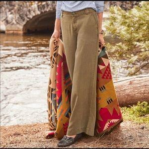 Sundance Desert Sand Tencel Wide Leg Pant